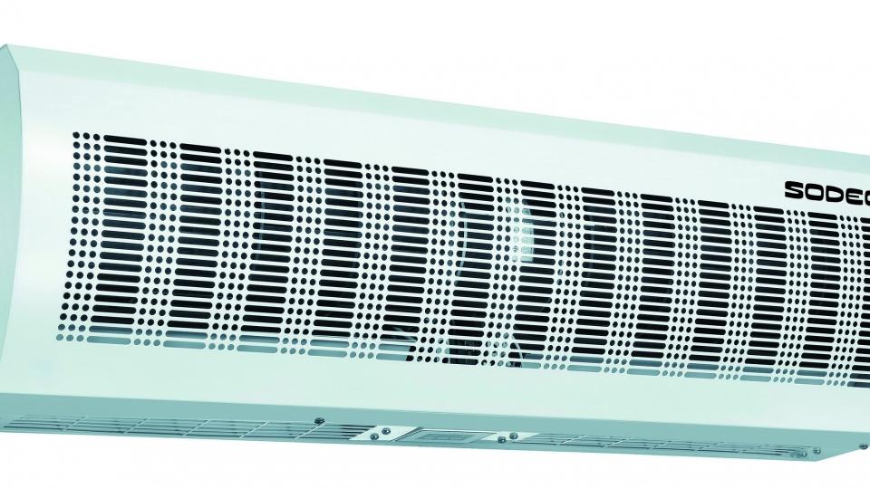 Gama cortinas de aire ventilaci n en mixflow - Cortinas de aire caliente ...