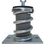 Antivibradores metálicos de suelo